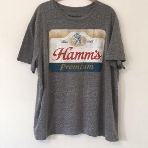 Hamms graphic tee shirt